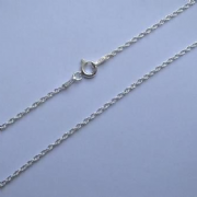 "24""/61cm 1.65mm Sterling Silver Prince of Wales Chain"